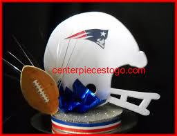 Football Centerpieces Football Helmet Centerpiece