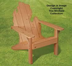 Wooden Adirondack Chairs On Sale Adirondack Michigan Chair Plans Wood Patterns Pinterest