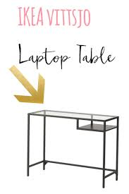 Laptop Desk Ikea Ikea Vittsjo Hack Entryway Table Restyle It Wright