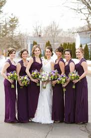 plum bridesmaid dresses latest wedding ideas photos gallery