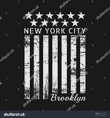 Brooklyn Flag Vector Illustration On Theme New York Stock Vector 511918798