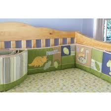small wonders wild dino 4 piece crib set