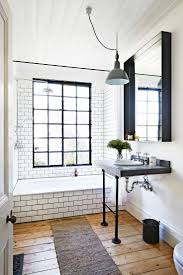 best ideas about wood floor bathroom pinterest bathrooms bathroom industrial subway tiles mar