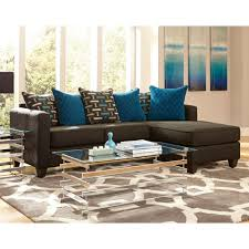 black couch with chaise pillows watson two piece sectional sofa