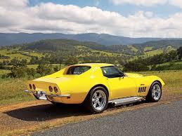 68 stingray corvette 1968 corvette stingray custom c3 coupe magazine