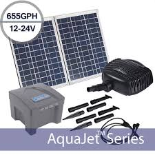 solar fountains with lights solar waterfall fountain pump kits shop solar