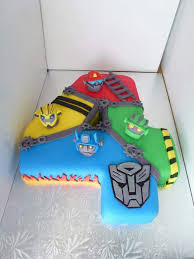 transformer birthday cake rescue bots cake number party rescue bots cake