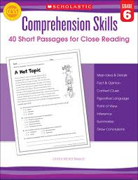 Thanksgiving Comprehension Passages Comprehension Skills 40 Short Passages For Close Reading Grade 2