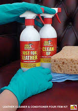 Sofa Leather Cleaner And Conditioner Leather Cleaning Kit Ebay
