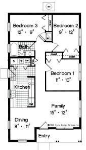 simple home plans simple 3 bedroom floor plans best square house plans ideas only on