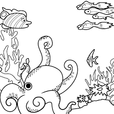 sea monsters coloring page contest round 2 children u0027s cartoons