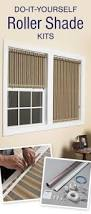 Roman Shade Hardware Kits - learn how to create your own custom roller shades a great no sew