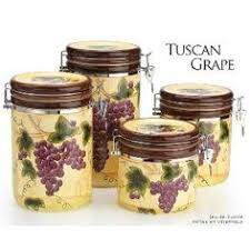 grape kitchen canisters grape 3 d canisters set of 4 grapes new canister by kmc kk