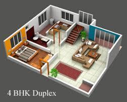 Gurukrupa Sringeri Service Apartment 1 Bhk Duplex House Plans