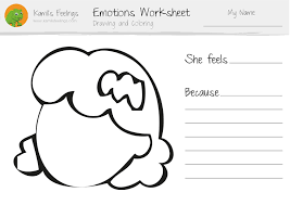 96 coloring pages emotions dog emotion cartoon