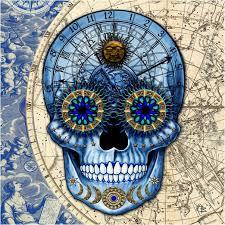 unique astrological sugar skull design artisan bedding sugar skull