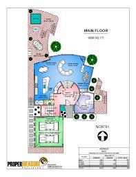 Waterfront Floor Plans Vibrant Full Colour Floor Plans Proper Measure