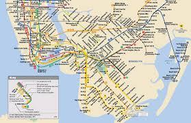 metro york map york city metro subway map