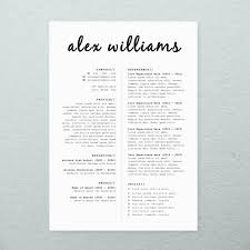 resume cv cover letter easy to edit templates 3 page resume