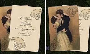 vintage style wedding invitations vintage style wedding invitations