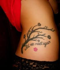 memorial tattoo tree maybe have pets names as branches my