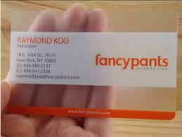 Translucent Plastic Business Cards Transparent Business Cards
