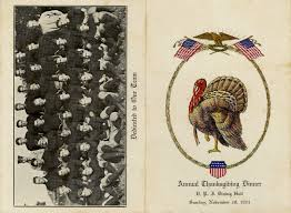 thanksgiving traditions at virginia tech special collections at