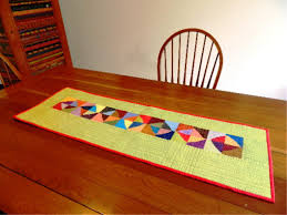 contemporary table runners dining room marissa kay home ideas
