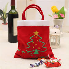 christmas gift bag christmas bag merry christmas gift bag candy bag holders new year