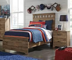 Ashley Furniture Trundle Bed Twin Brobern Twin Size Panel Bed B173 Ashley Kids Furniture Kids