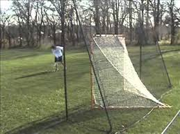 diy lacrosse goal the laxstop lacrosse backstop stop chasing missed shots youtube