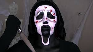 ghostface u0027scream u0027 halloween makeup tutorial youtube