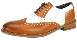 Sho Gatsby brogues mens leather lace up wingtip formal gatsby evening