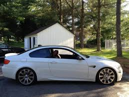2008 bmw m3 alpine white on fox red interior extended maintenance