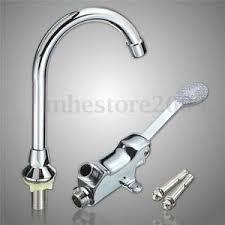 kitchen faucet pedal pedal valve faucet vertical basin switch kitchen sink