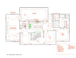 Electrical Plan by Transformation Wired Up Traditional Home