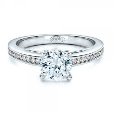 channel set engagement rings s channel set engagement ring 1473