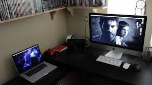 desk for gaming setup 27 breathtaking decor plus u2013 cocinacentral co