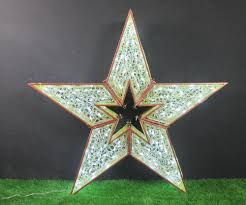 Outdoor Christmas Star commercial shopping mall 2m 3m 4m 5m led lighted outdoor hanging