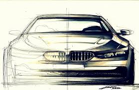 another bmw front view by chrupson on deviantart sketch u0026 huk