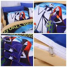 duvet cover set 3d the nightmare before bedding set 3pcs