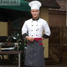 chef costume food service women men chef jacket restaurant chef costume hotel