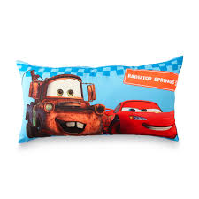disney cars kid s body pillow lightning mcqueen mater