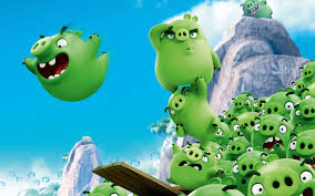 wallpaper bad piggies angry birds animation movies 4037