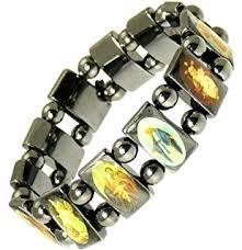 battle saints bracelets luos 3pc wood bracelet saints icon religious jewelry