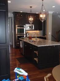 dark kitchen at night best 25 espresso cabinets ideas on pinterest