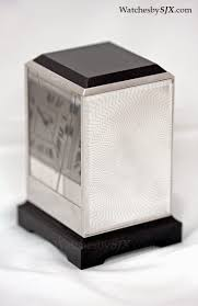 watches by sjx up close cartier clock prisme prism clock with