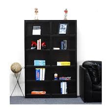 Narrow Bookcase Espresso by Concepts In Wood Midas Cherry Open Bookcase Mi4872 C The Home Depot