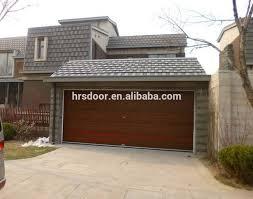 carport door u0026 flat bar and scroll carport sectional door 174