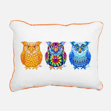 owl pillows owl throw pillows u0026 decorative couch pillows